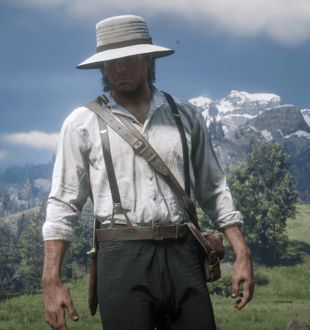 RDR2 - Arthur Morgan in Epilogue High Honor with Unattainable Outfits
