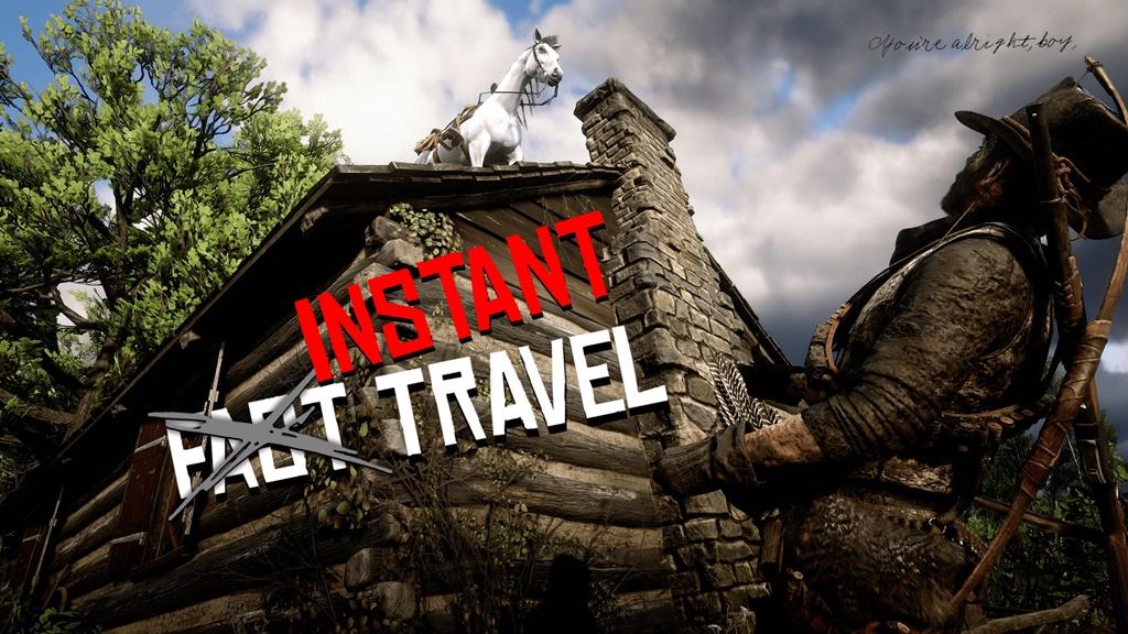 RDR2 - Instant Travel