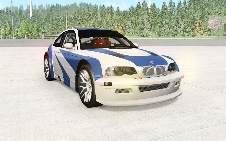 Beamng Bmw M3 Gtr E46 Nfs Mw Edition Beamng Drive Mods Club