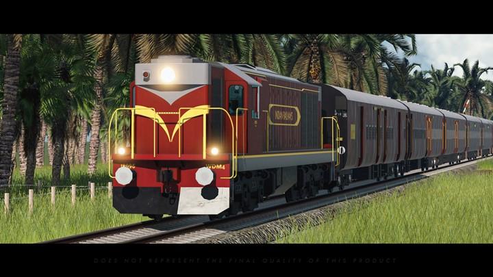 Transport Fever 2 - Indian Railways WDM-4