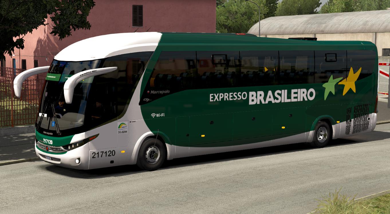 ETS2 - FC Bus G7 Scania 6x2 A V2.5 (1.36.x)