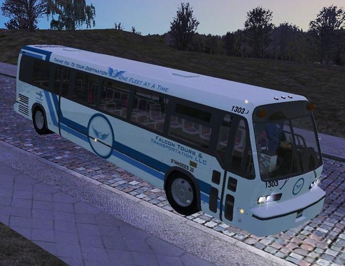Omsi 2 - 1986 GMC RTS T8W204 Bus | Omsi 2 | Mods.club