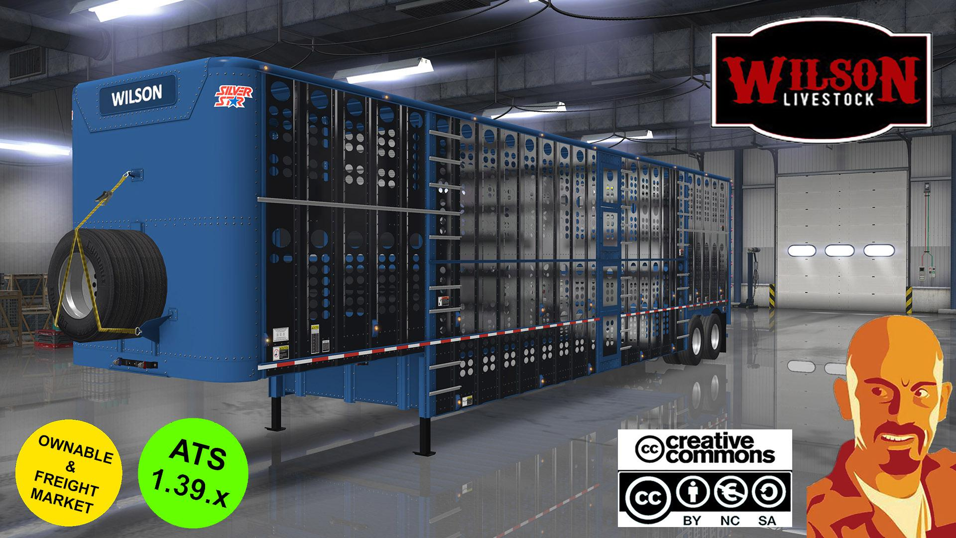 ATS - Wilson Cattle Trailers (1.39.x)