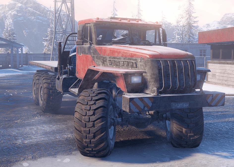 SnowRunner - VoronXe AE-4380 Truck V1.0.2