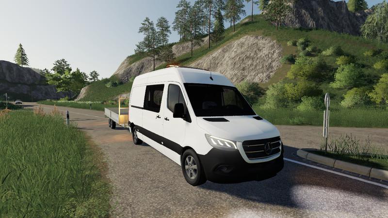 FS19 - Mercedes-Benz Sprinter VS30 V1.0