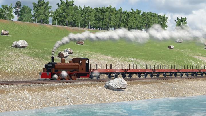 Transport Fever 2 - Kitson 0-6-0PT Class A5
