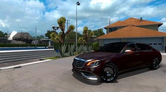 ATS - Mercedes-Benz S650 Maybach 2018 V5.0 (1.39.x)
