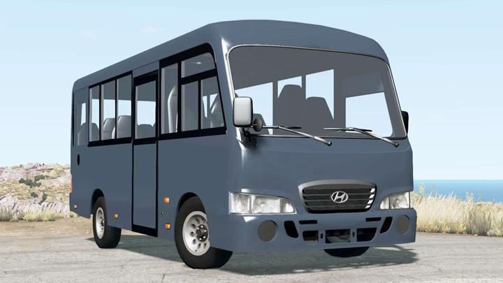 BeamNG - Hyundai County 2007 Bus Mod