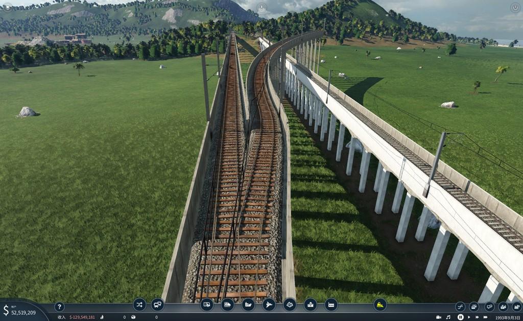 Transport Fever 2 - JB-1 Railway Viaduct 1