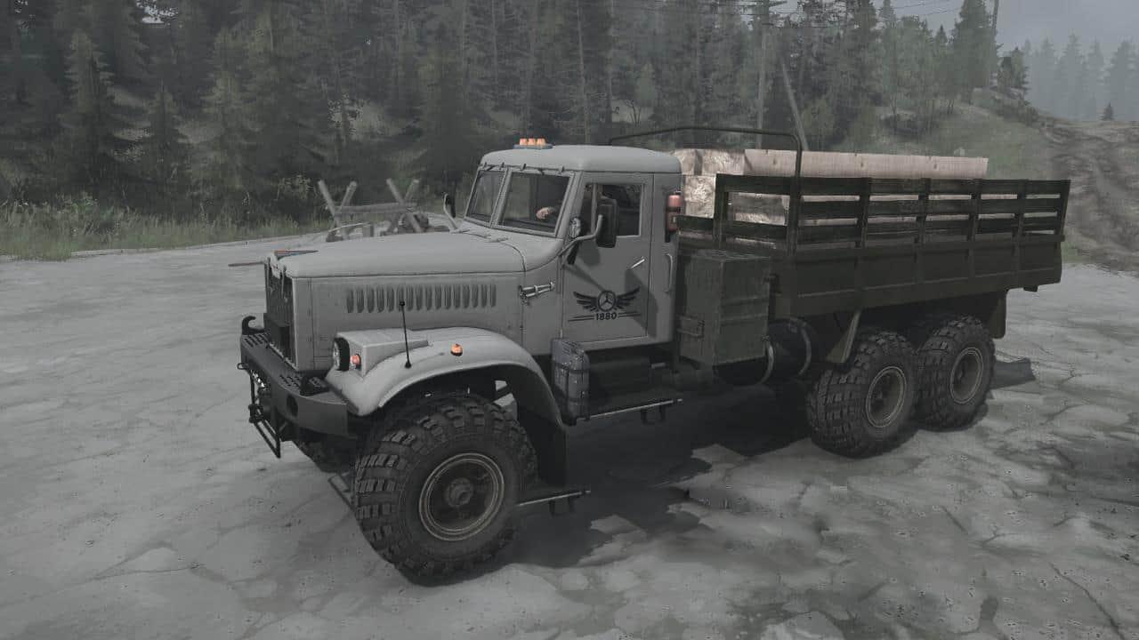 Spintires:Mudrunner - KrAZ-255B Truck V26.12.20