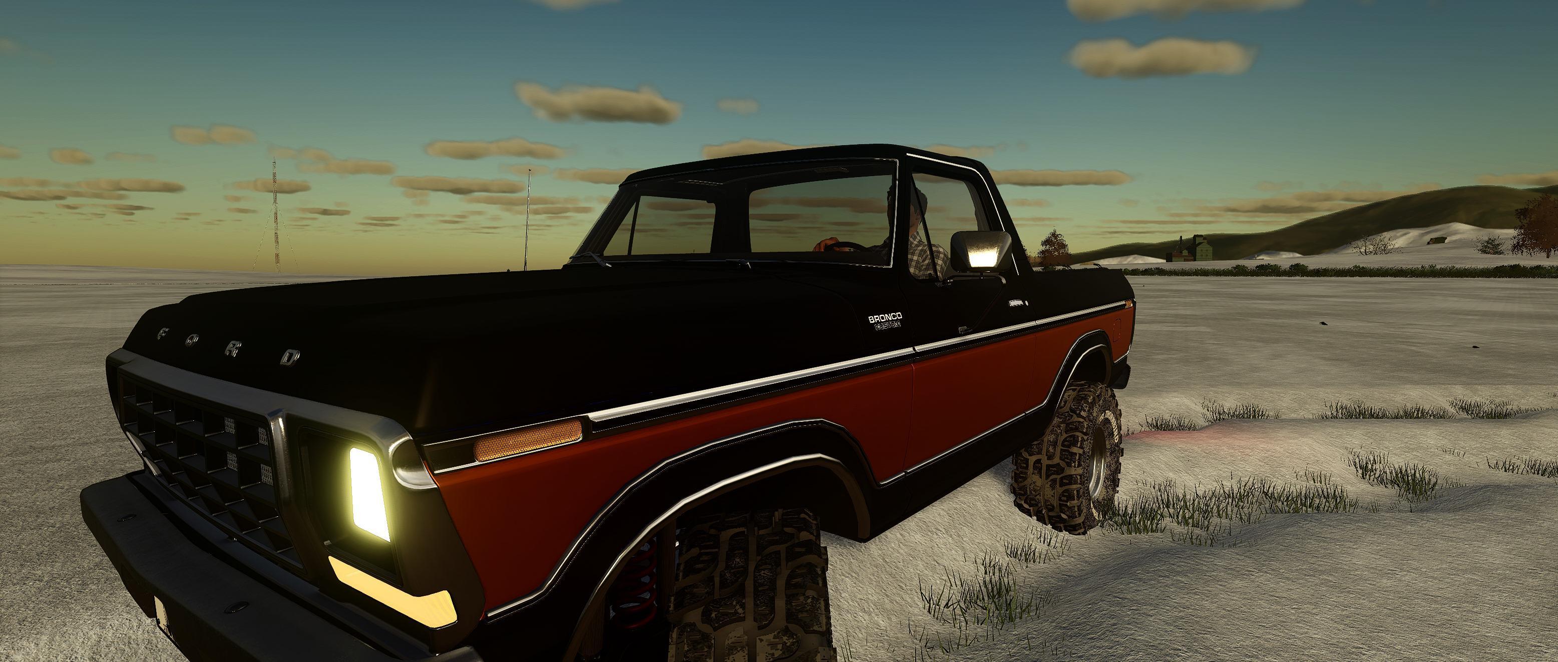 FS19 - Ford Bronco Custom 1978 v0.9