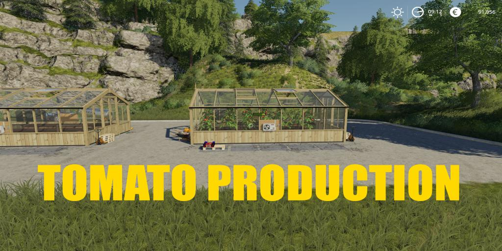 FS19 - Tomato Production V1.0