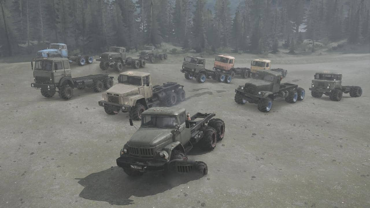 Spintires:Mudrunner - Arched Wheels (4 Colors) v0.2