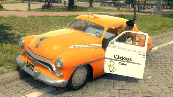 Mafia 2 – Mercury Chicos Cabs Low Rider