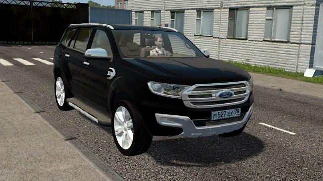 City Car Driving 1.5.9 - Ford Everest Titanium 2017