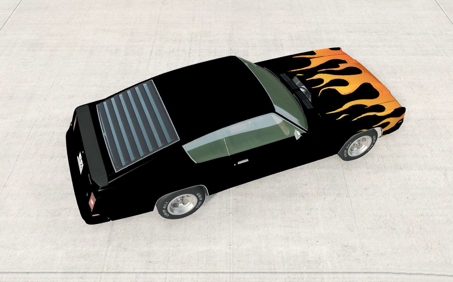 BeamNG - Gavril Barstow Colorable Gradiant Flames V1.1