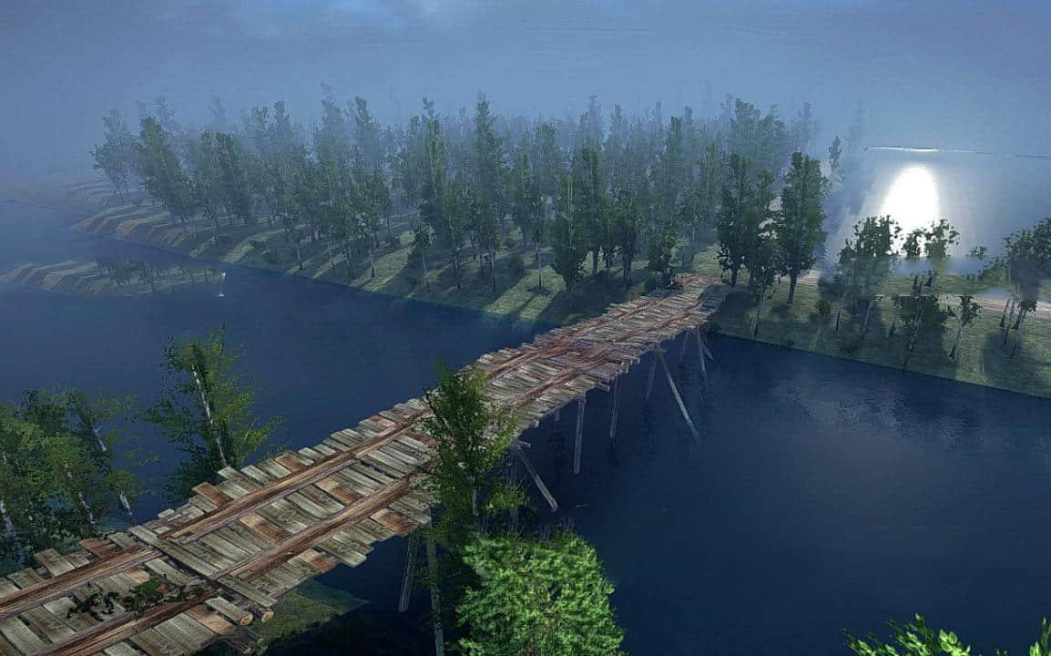 Spintires:Mudrunner - Round and Powerful 1 Map V1.0
