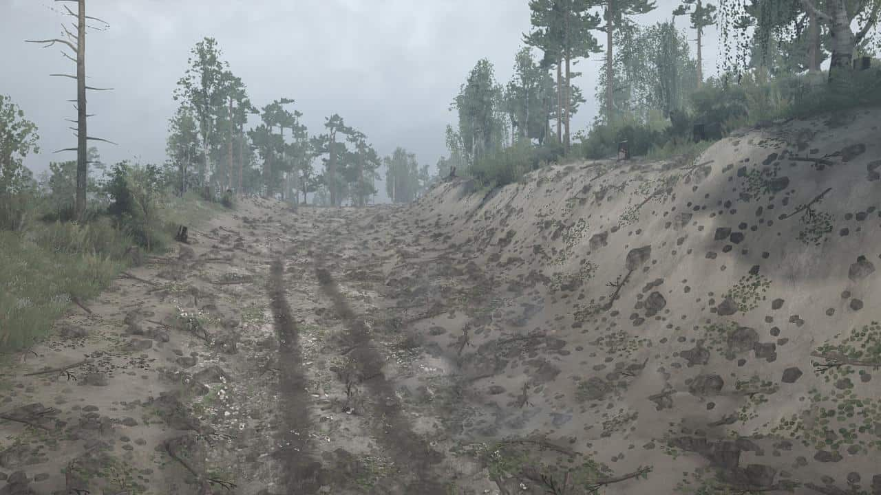 Spintires:Mudrunner - Gold Log Map V13.09.19