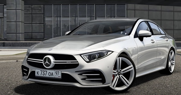City Car Driving 1.5.9 - Mercedes-Benz CLS53 AMG 2019