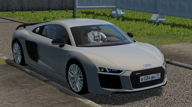 City Car Driving 1.5.9 - Audi R8 V10 Plus