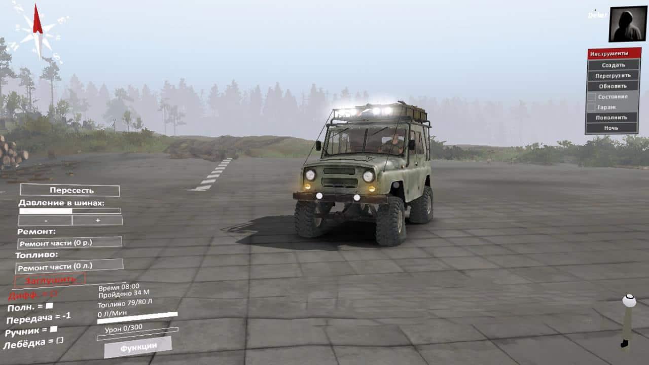 Spintires - Uaz-469 V2