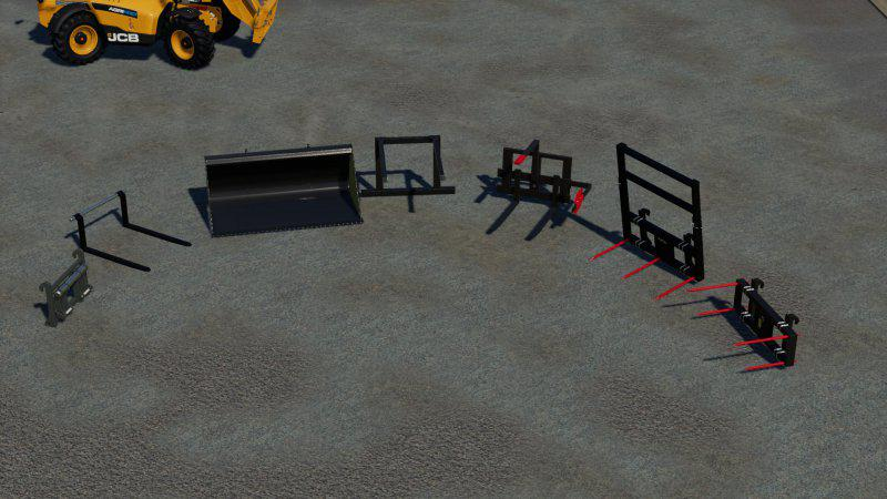 FS19 - Tools for JCB 542-70 V1.0