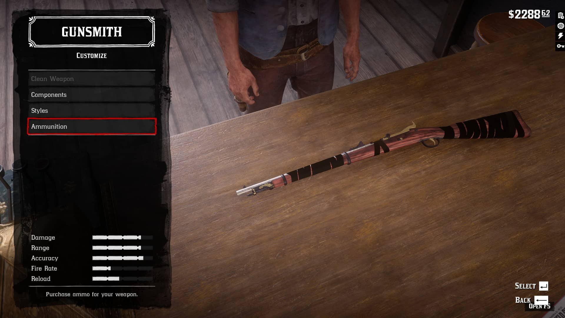 RDR2 - Wrap for Springfield Rifle