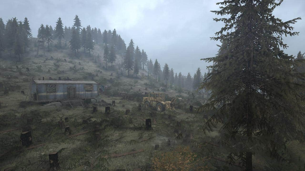 Spintires:Mudrunner - Dangerous Firs Map v12.09.19