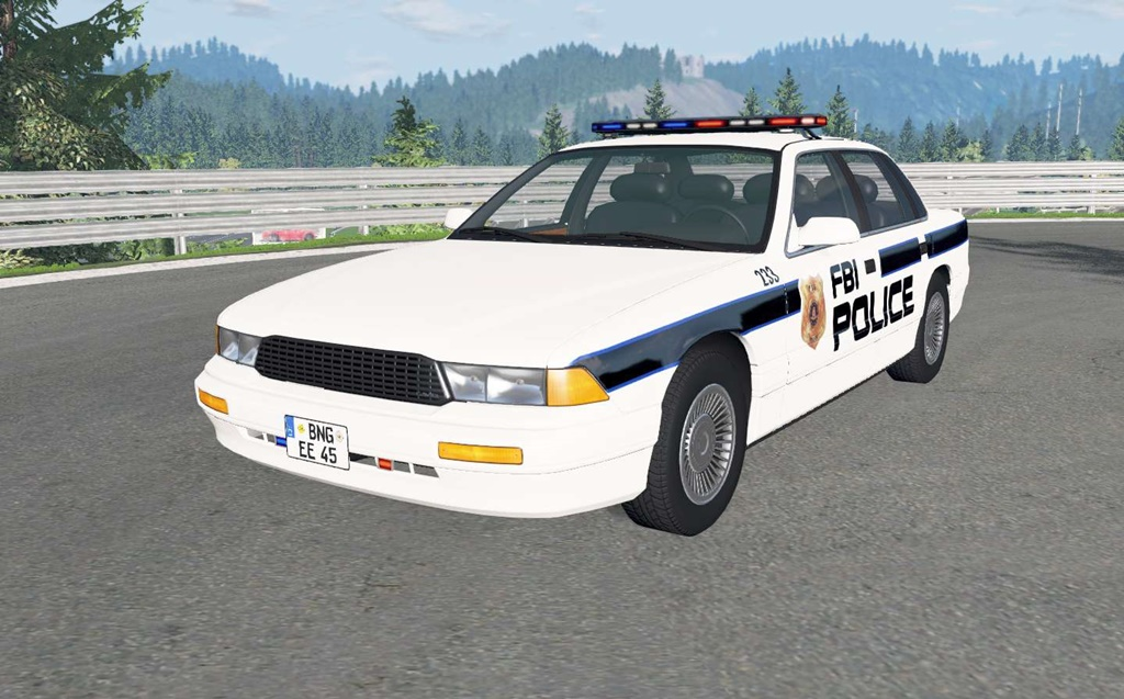 BeamNG - Gavril Grand Marshall FBI V1.6