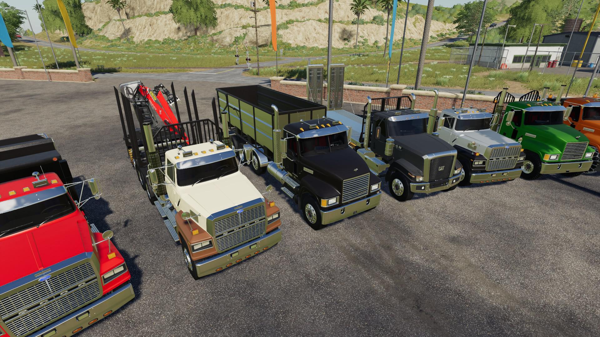 FS19 - Trucks and AR Frames Pack V1.0