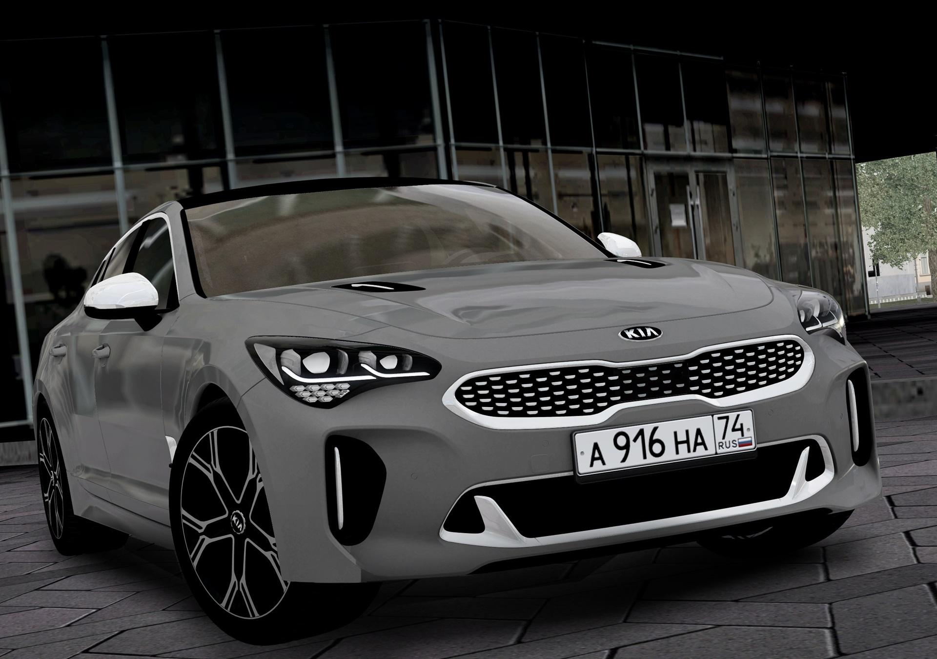 City Car Driving 1.5.8 - Kia Stinger GT 2018