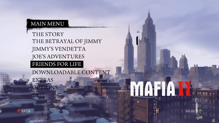 Mafia 2 – Friends For Life DLC