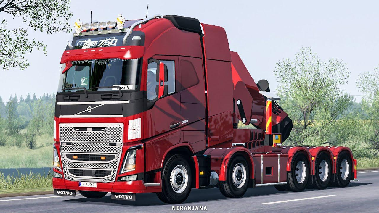ETS2 - Volvo FH16 2012 Mega Mod V1.39.1.5S