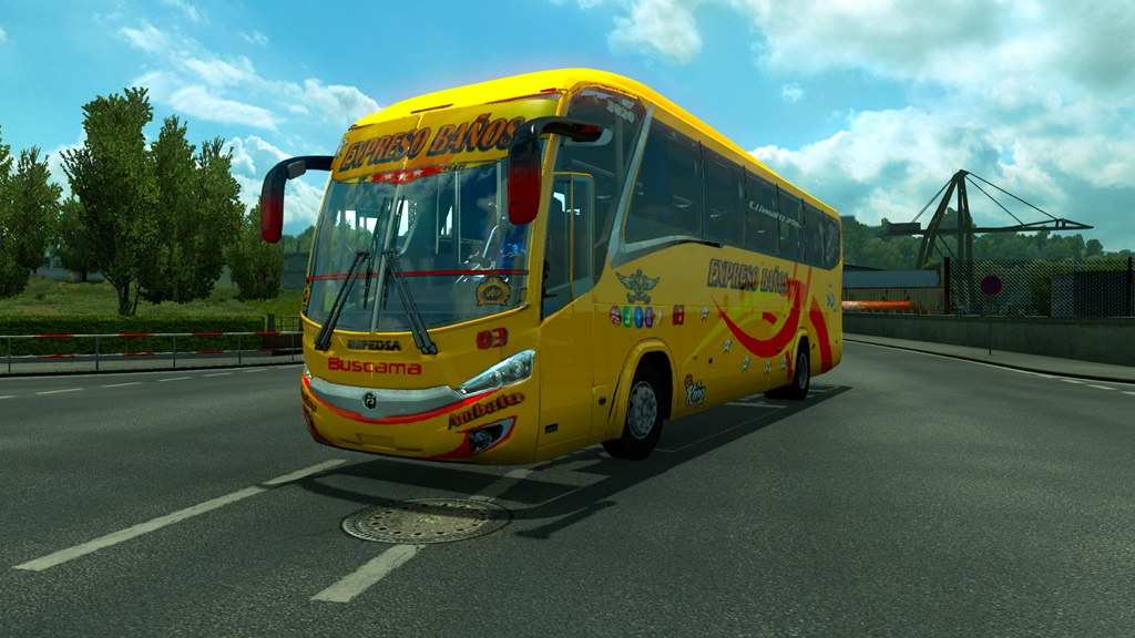ETS2 - Hino Impedsa Bus (1.37 - 1.38)