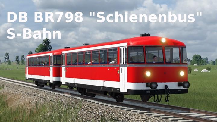 Transport Fever 2 - DB BR 798 (Schienenbus) S-Bahn