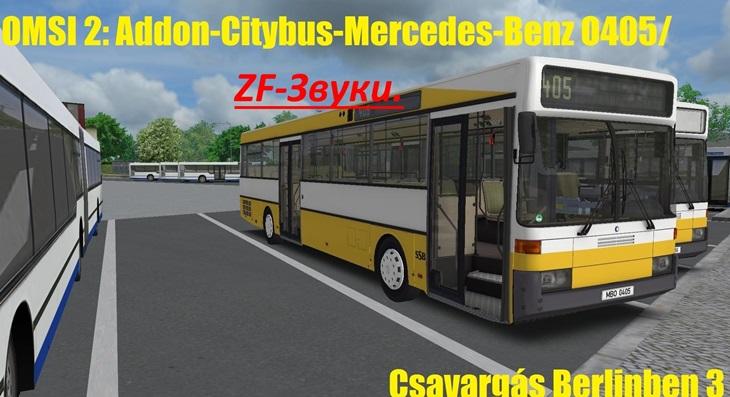 Omsi 2 – Mercedes-Benz O405 Citybus Addon Zf-Voices