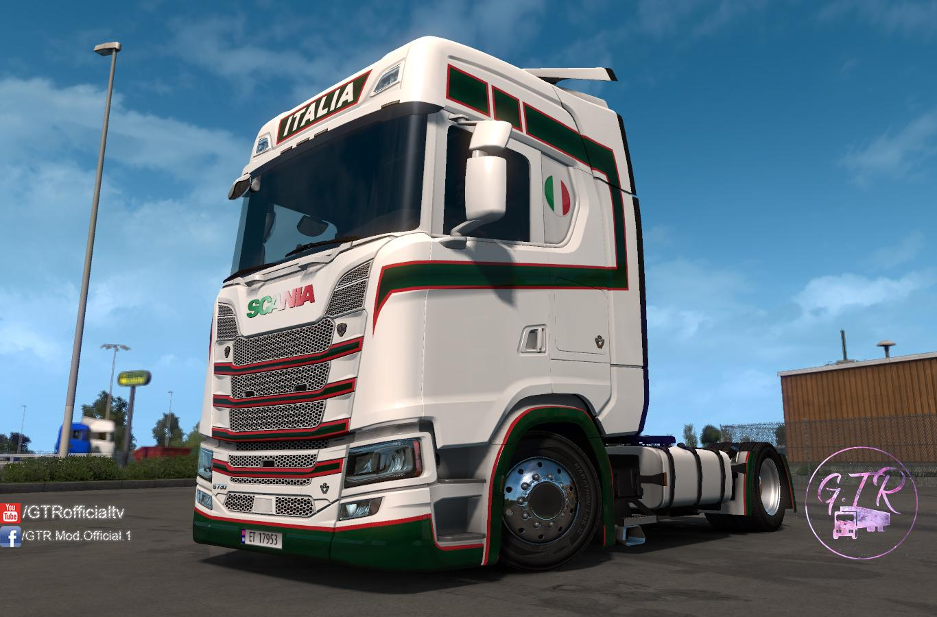 ETS2 - Scania S Next Gen Italy Skin (1.35.X)