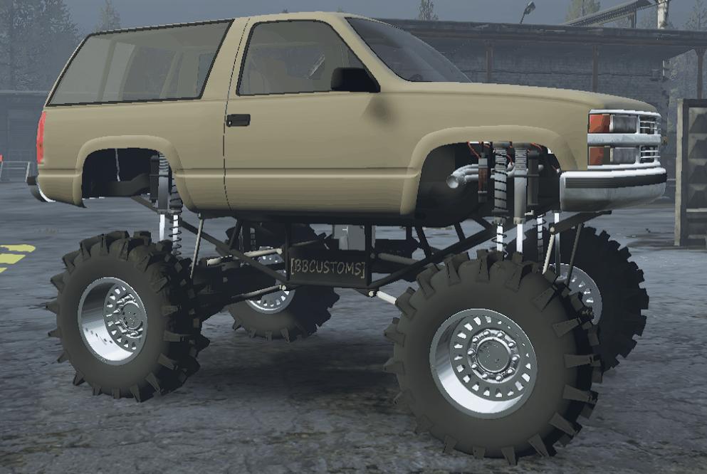 SnowRunner - Tahoe Mega Mud Truck V2.6.9