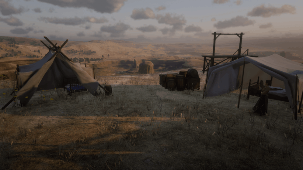 RDR2 - Mexico Camp Map