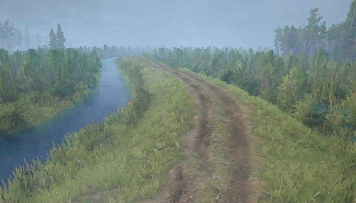 Spintires:Mudrunner - Swamp Kulai Map V1.1
