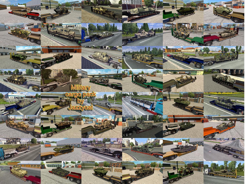 ETS2 - Military Cargo Pack V3.7 (1.35.X)