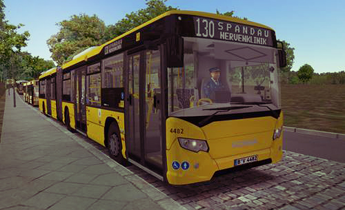 Omsi 2 – Scania Citywide GN14 Bus