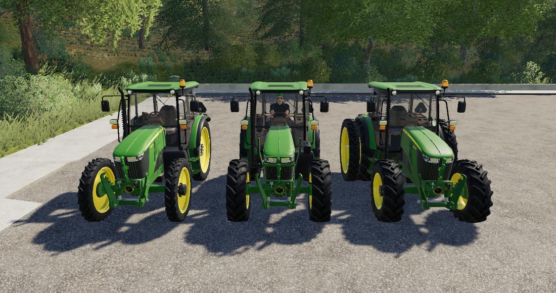 FS19 - John Deere 5085M Tractor V1.0