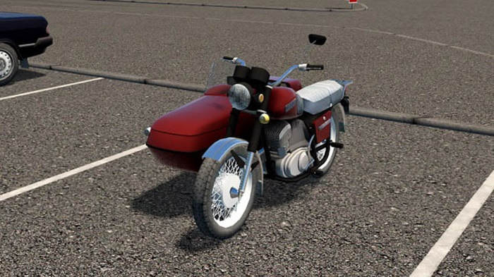City Car Driving 1.5.9 – Izh Planet 5 Motorcycle