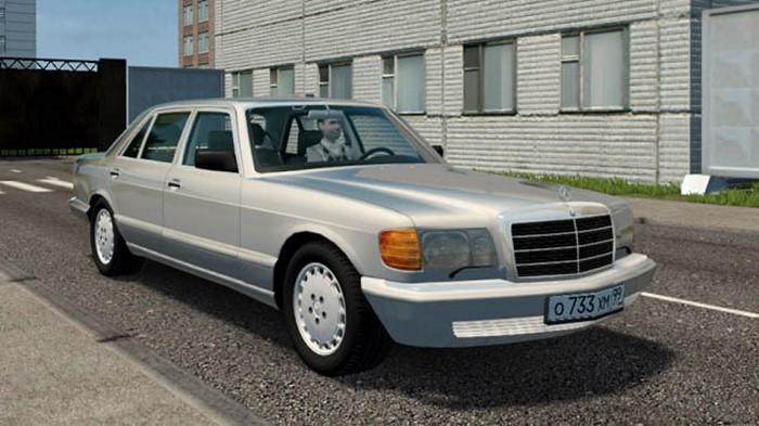 City Car Driving 1.5.9 - Mercedes-Benz 560 SEL (W126)