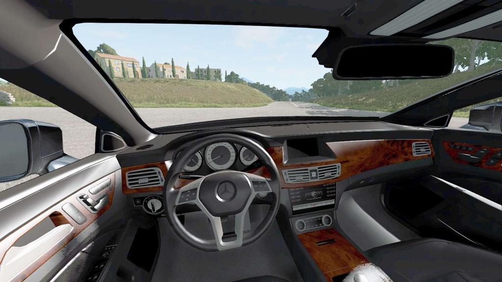 BeamNG - Mercedes-Benz CLS 350 (C218) 2011 Car Mod