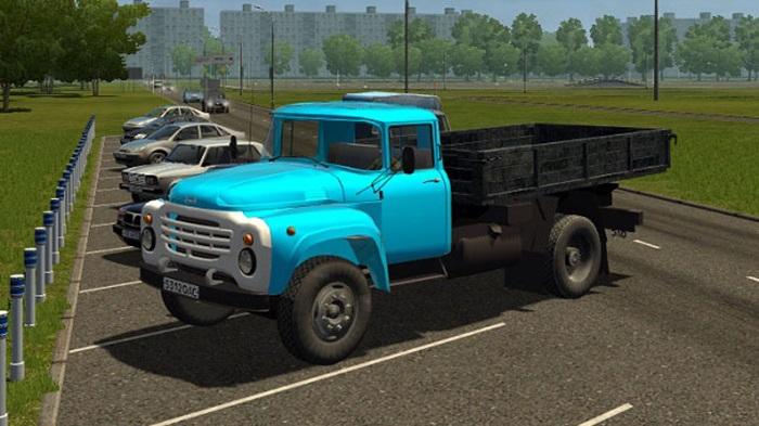 City Car Driving 1.5.9 - Zil 130 Board Truck V1.0