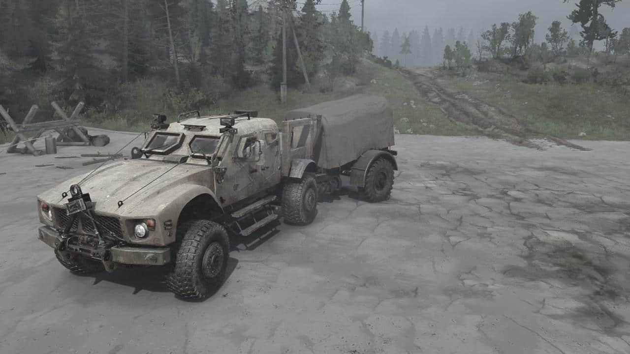 Spintires:Mudrunner - Oshkosh M-ATV V08.08.19