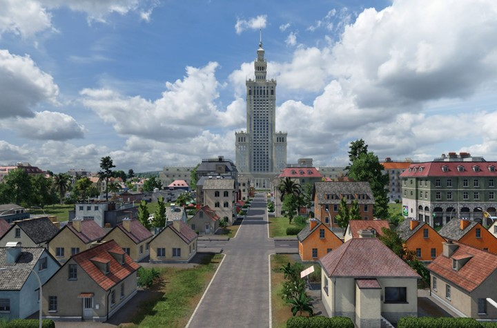 Transport Fever 2 - Palace of Culture and Science (PKiN)
