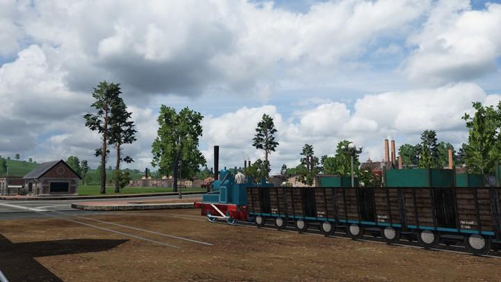 Transport Fever 2 - Industrial Freight Tram